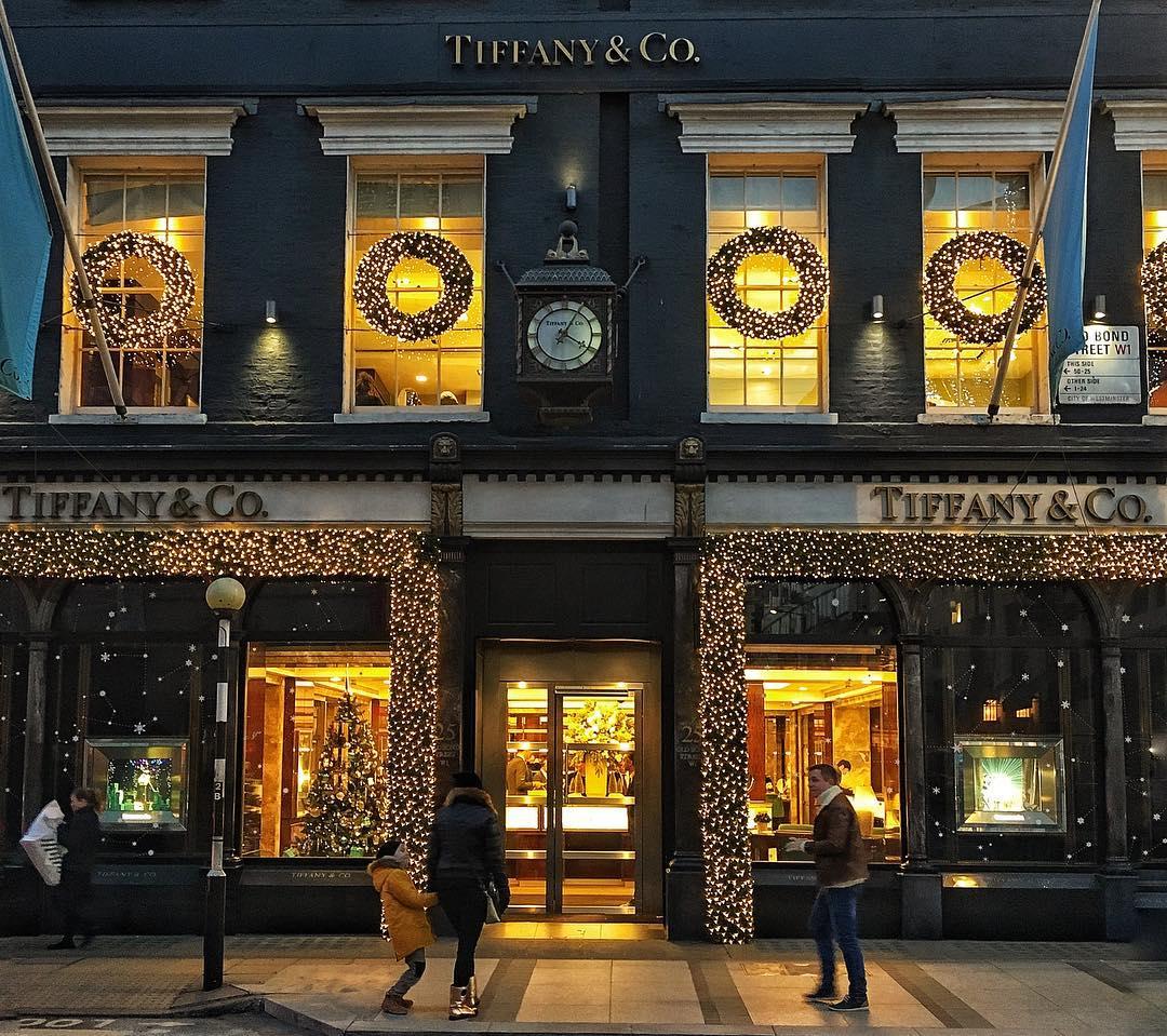 vetrina di Tiffany