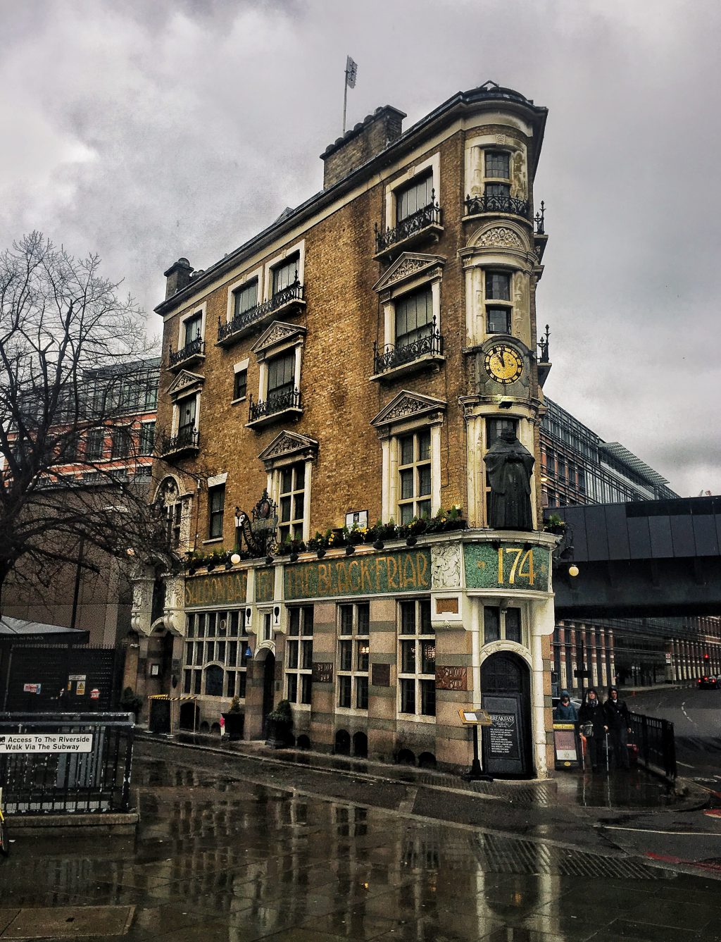 il Pub The Blackfriar a Londra