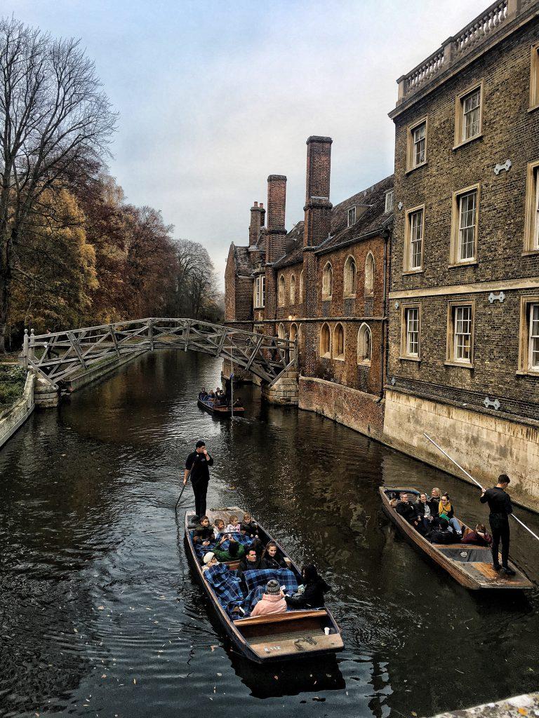 canali di Cambridge