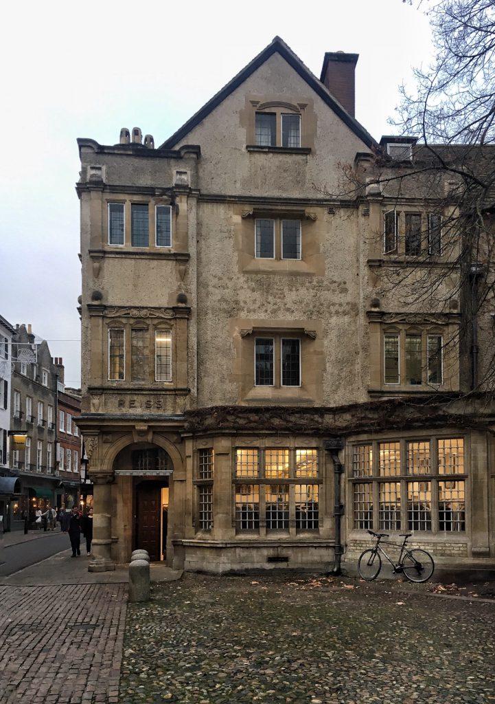 affascinanti edifici nel centro di Cambridge