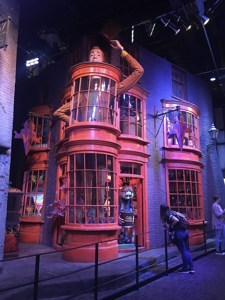 Scorcio di Diagon Alley