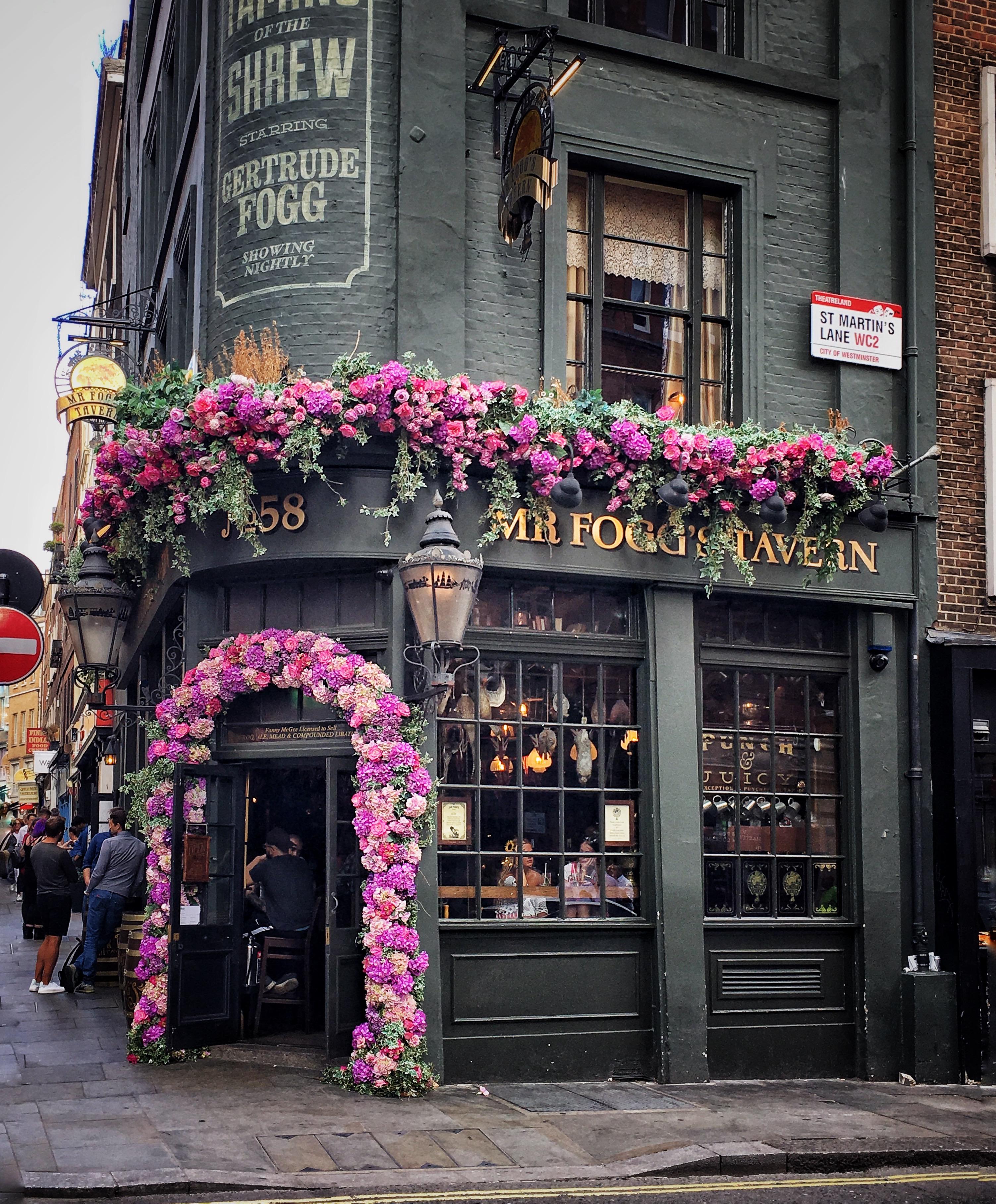 Mr Fogg Tavern a Londra