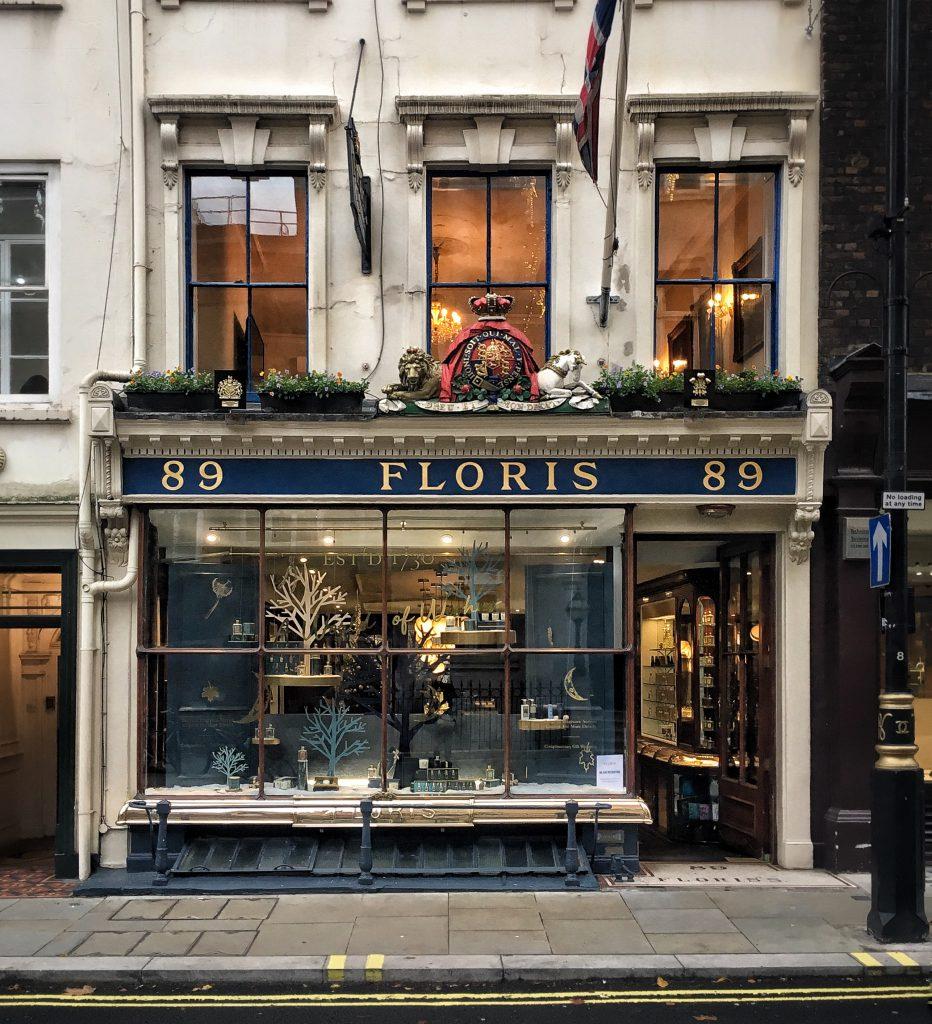 Floris è uno dei negozi di profumi più rinomato di Londra