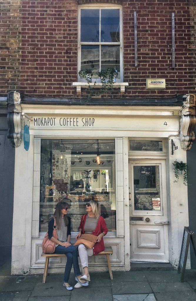 una deliziosa caffetteria di Islington (Londra)