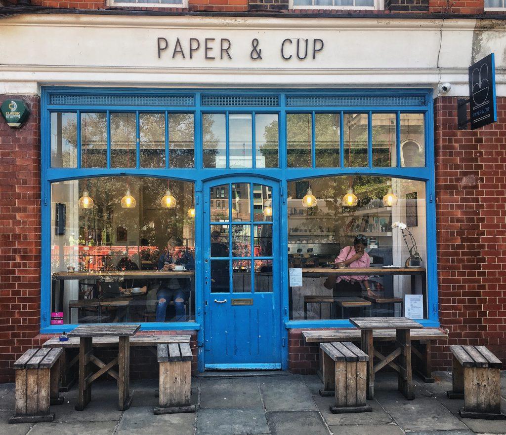 Paper & Cut: caffè no profit
