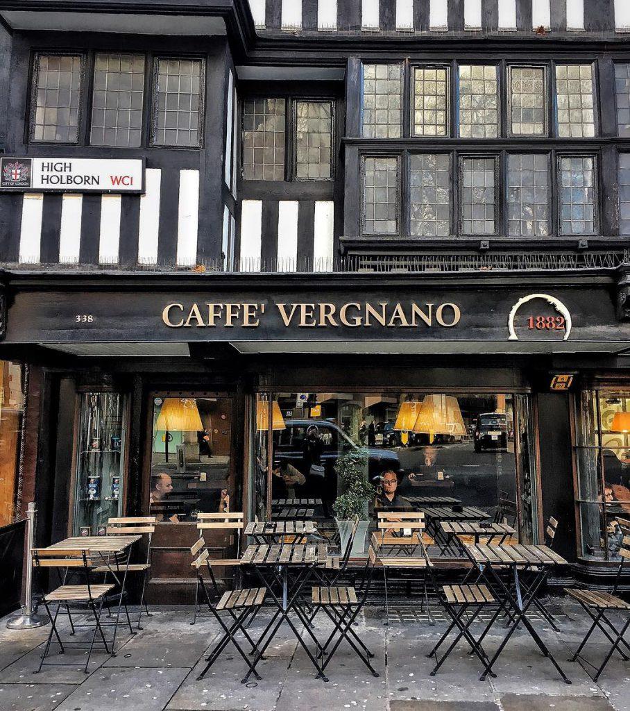 Caffè Vergnano ha varie sedi a Londra