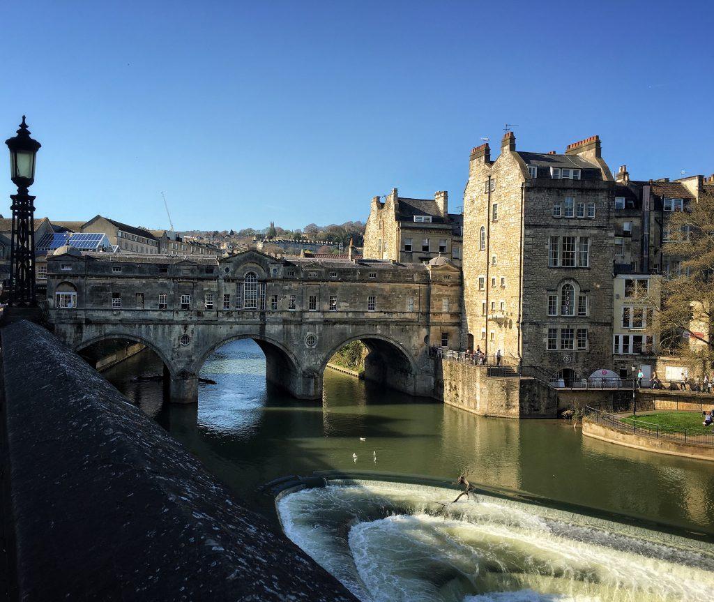 Un giorno a Bath, in Inghilterra