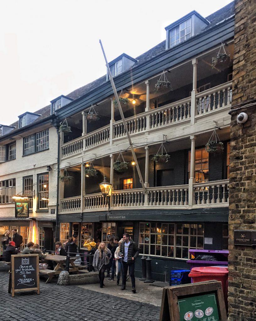 Il George Inn Pub è gestito dal National Trust