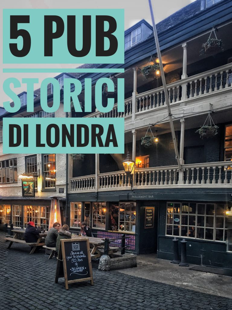 5 storici pub di Londra