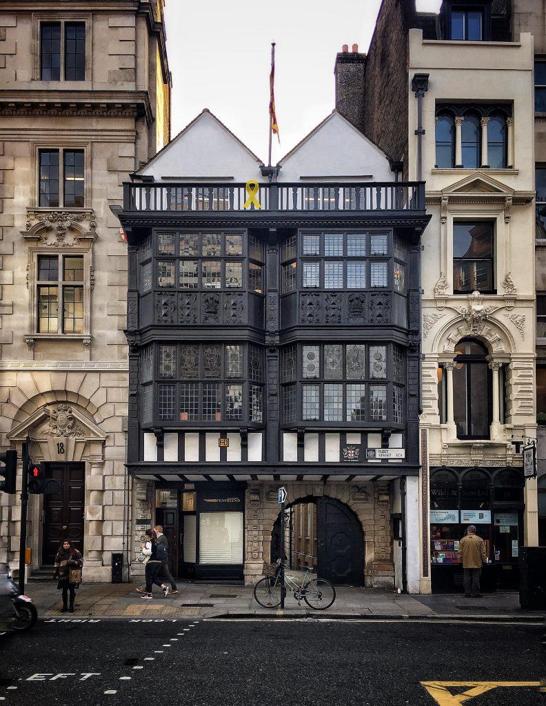 Prince Henry's room è uno dei pochi edifici di Londra sopravvissuto all' incendio del 1666.