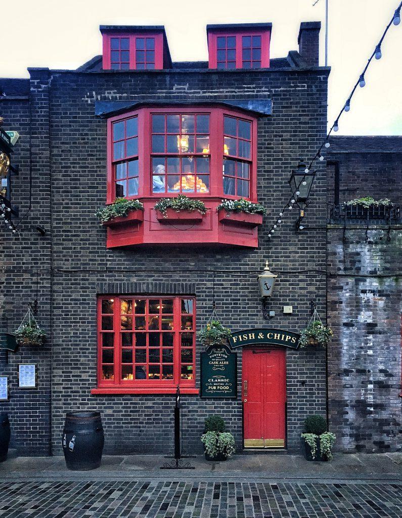 Samuel Pepys osservò il grande incendio dalle finestre del Anchor pub