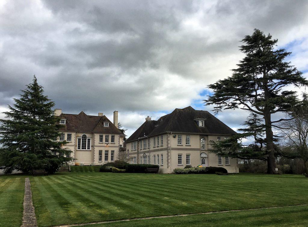 hotel immerso nella campagna inglese