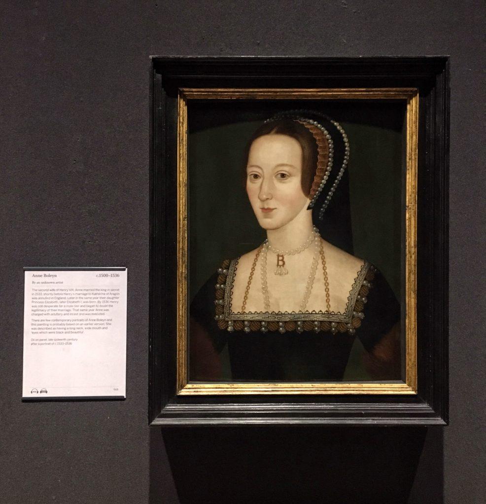 I ritratti che ci sono rimasti di Anna Bolena sono tutti successivi alla sua morte