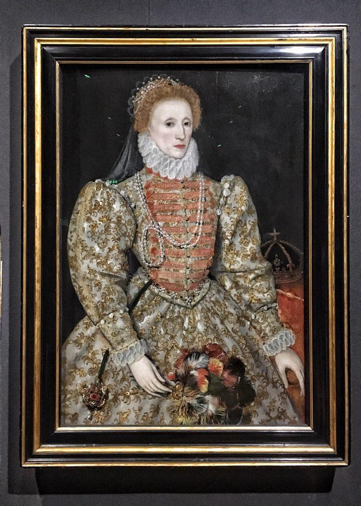 uno dei ritratti di Elisabetta I conservato alla National Portrait Gallery