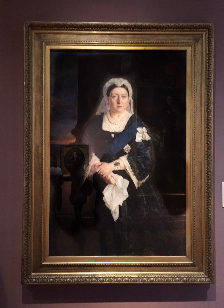 Uno dei ritratti della Regina Vittoria conservato alla National Portrait Gallery di Londra