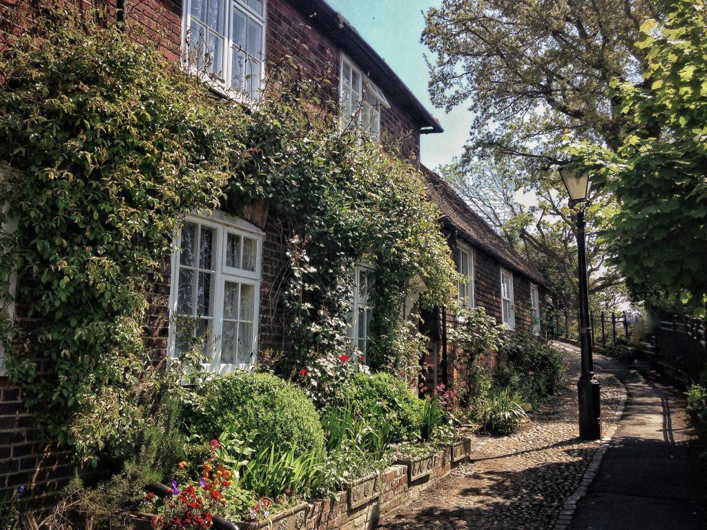 Rye uno dei villaggi più graziosi dell'Inghilterra del sud