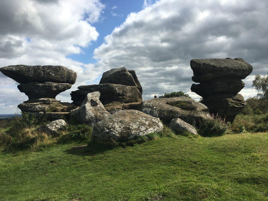 le strane formazioni rocciose di Brimhan Rocks
