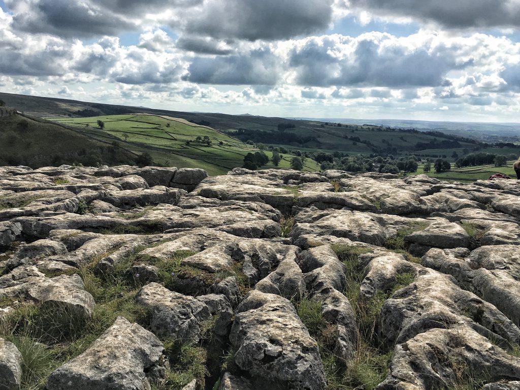 il pavimento calcareo più ampio d'Inghilterra