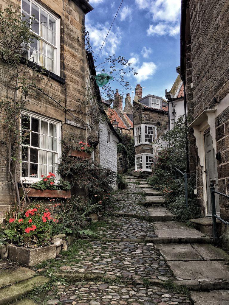il villaggio di Robin Hoods bay nello Yorkshire