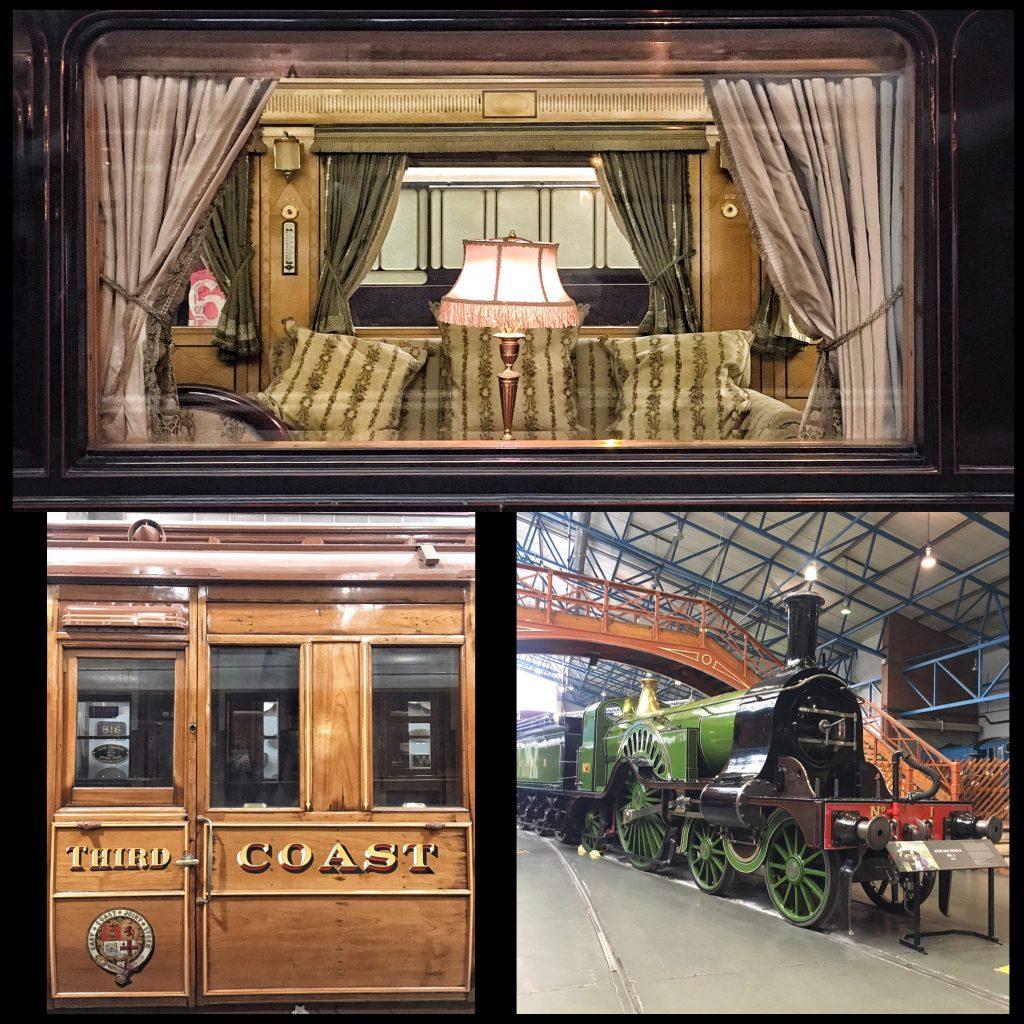 le splendide carrozze del railway Museum a York