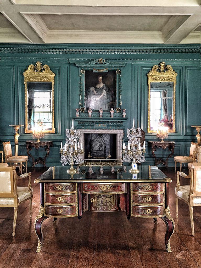 I sontuosi interni della Treasurer's house