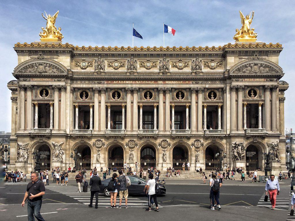 Gli esterni dell'Opera Garnier