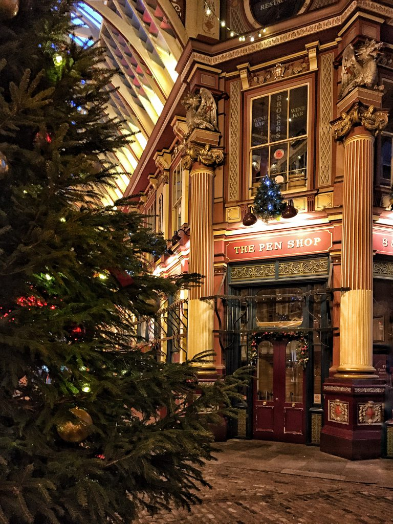 atmosfere alla Harry Potter al Leadenhall Market