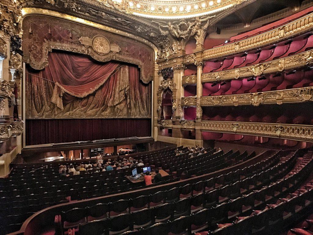 Opera Garnier: l'auditorium