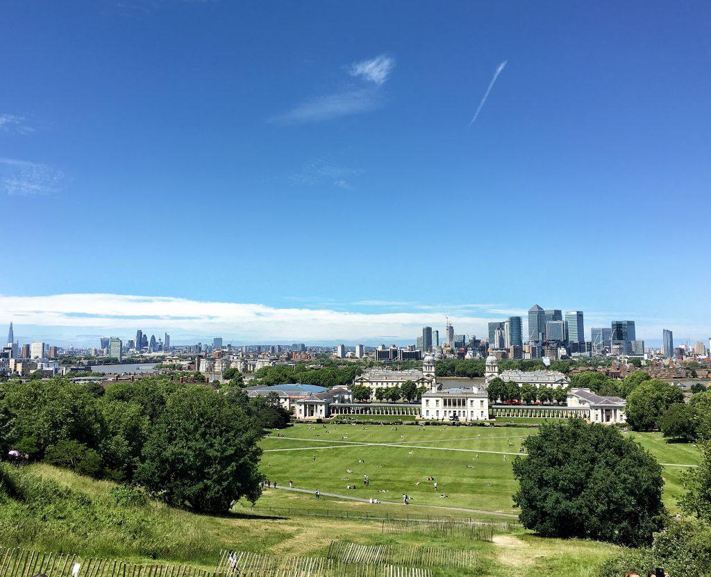 Greenwich è tra i più famosi parchi di Londra