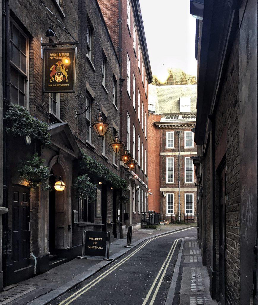vie laterali di Londra
