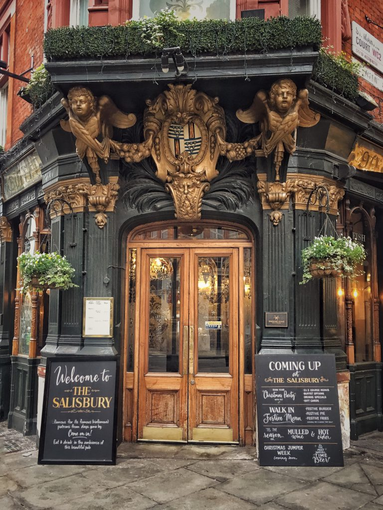 The Salisbury, storico pub a Covent Garden
