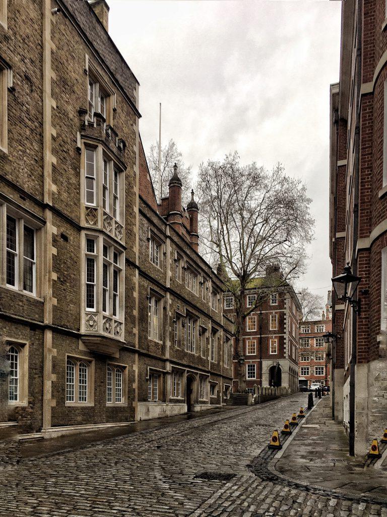 Luoghi segreti di Londra: Inns of Courts