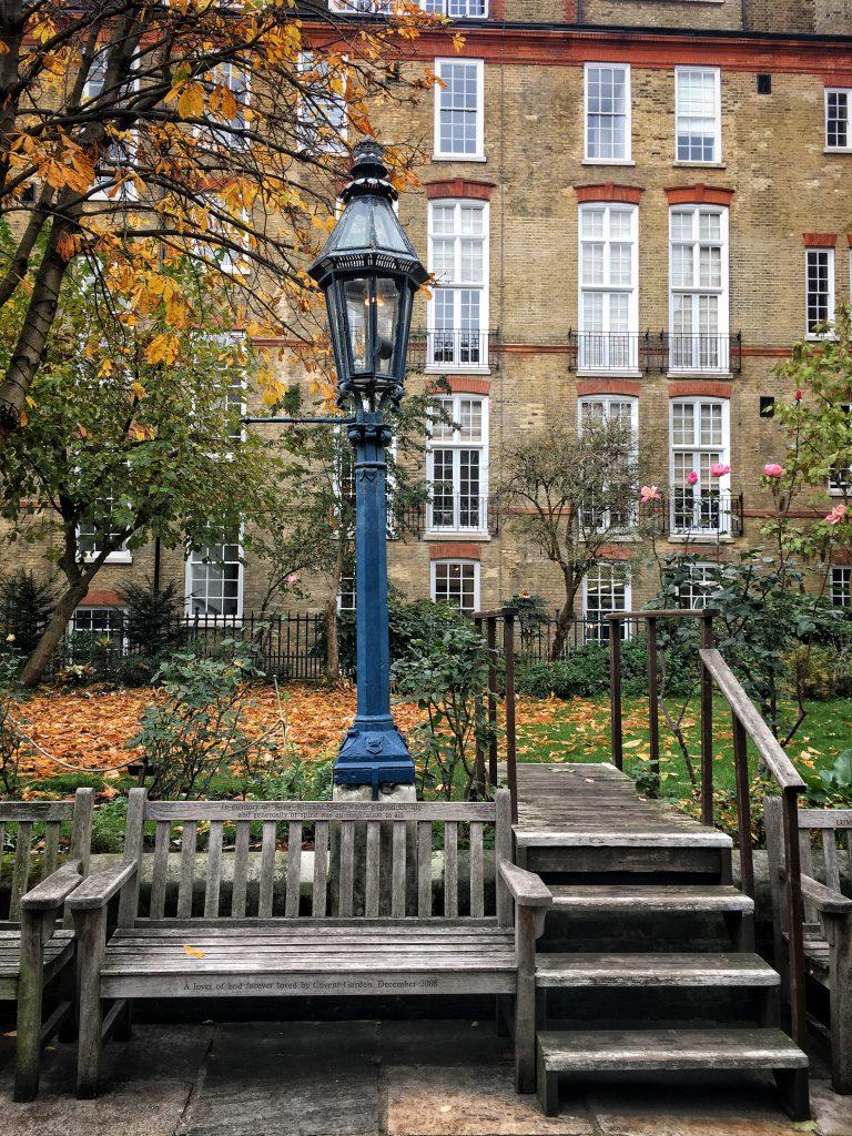 il giardino 'segreto' dietro St Paul a Covent Garden