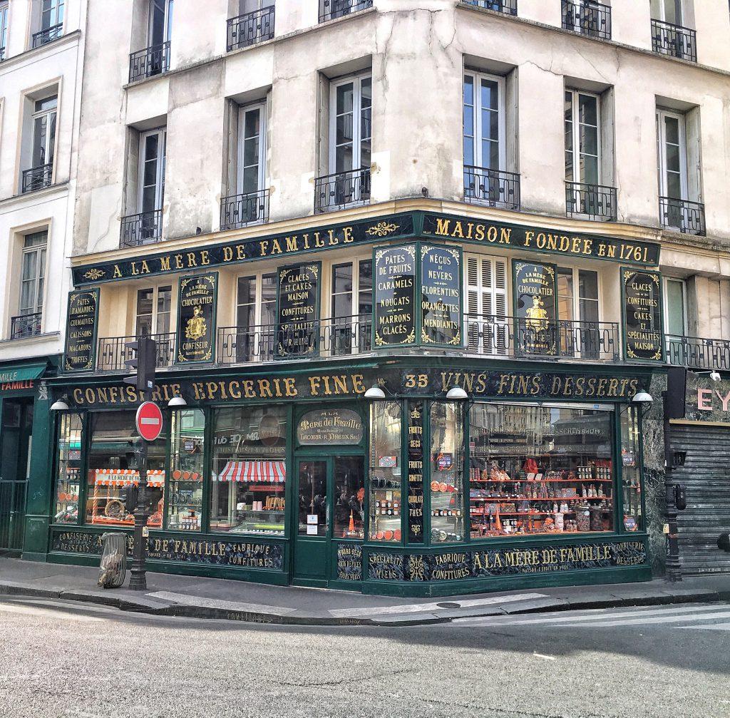 il più antico negozio di Parigi