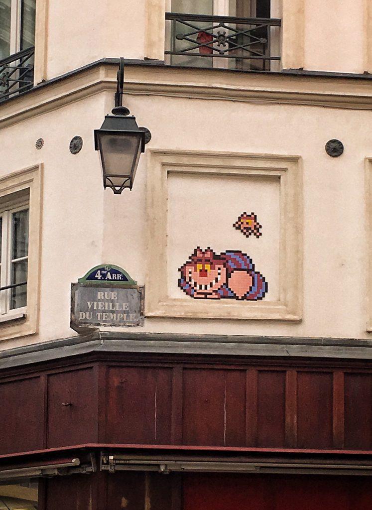 le opere di Invader a Parigi
