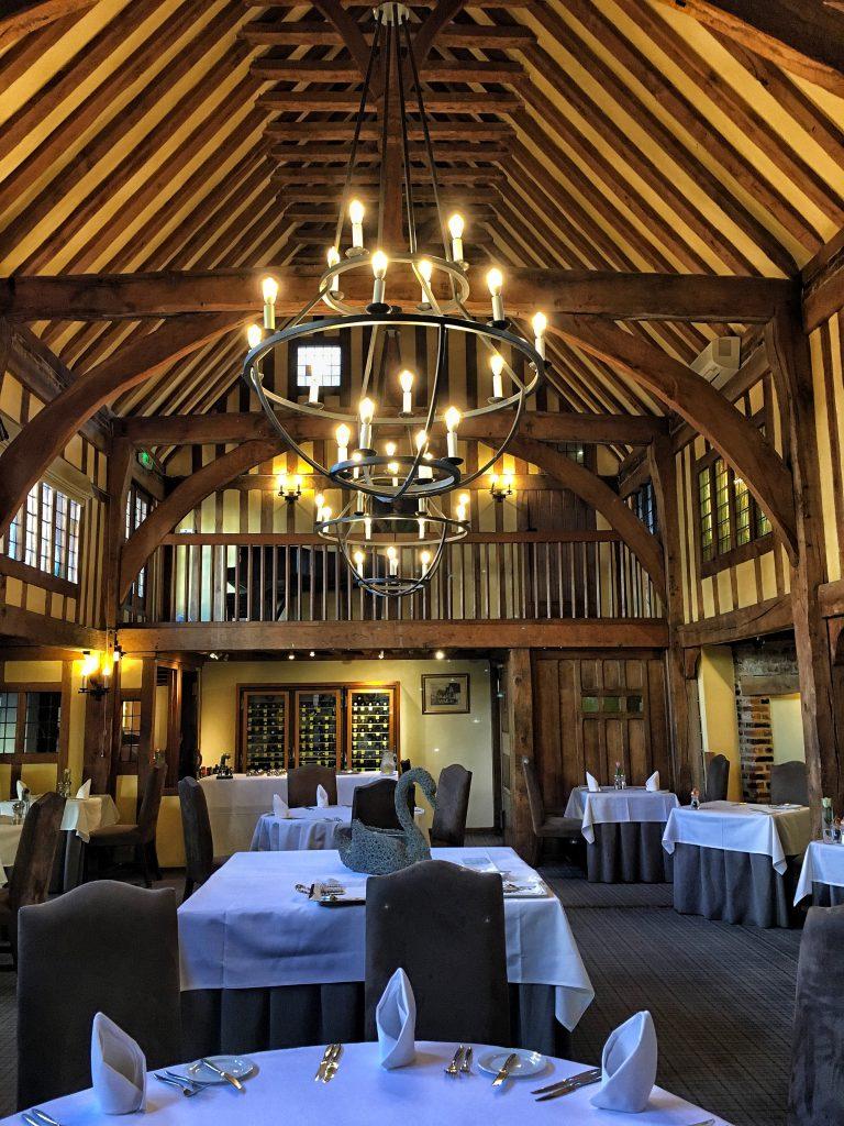 il ristorante dello Swan Hotel