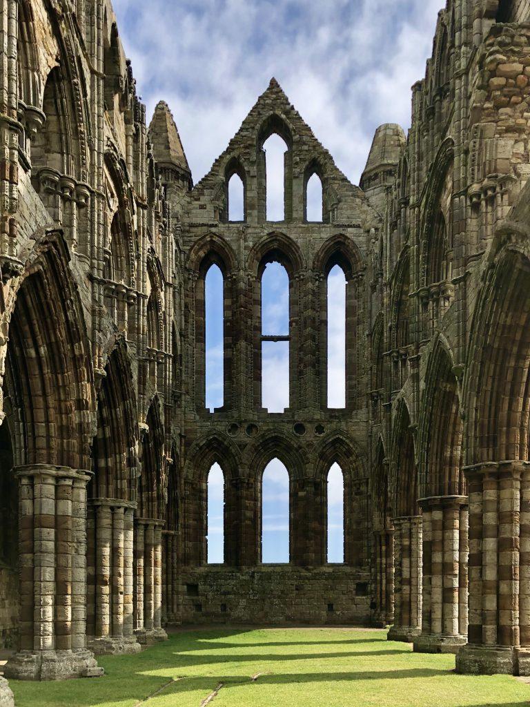 le rovine dell'abbazia Whitby