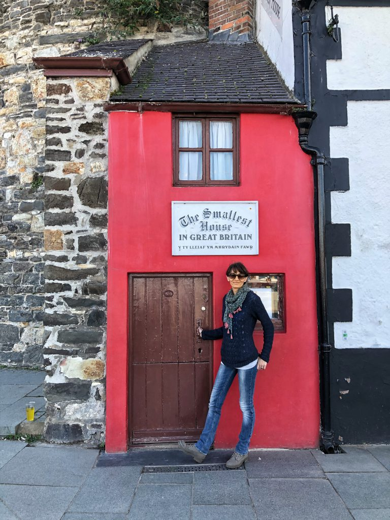 la casa più piccola della Gran Bretagna