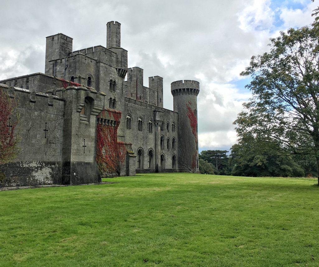Penrhyin Castle nel Nord del Galles