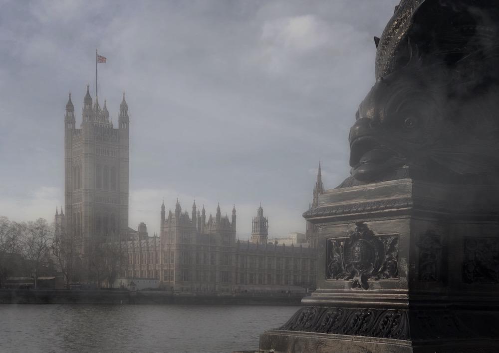 la nebbia di Londra