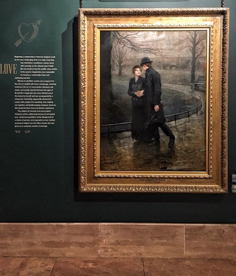 nei dipinti di epoca vittoriana la nebbia era spesso presente