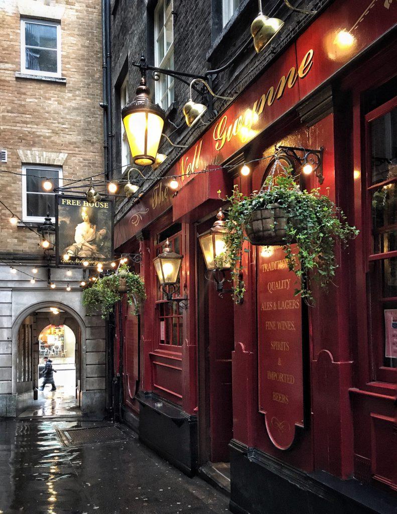 Il pub di Covent Garden dedicato a Nell Gwynn