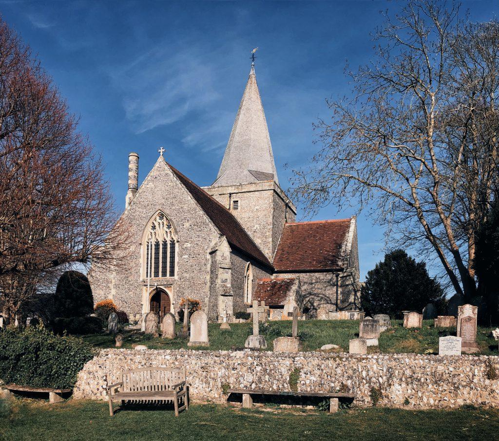 La chiesa di Alfrinston