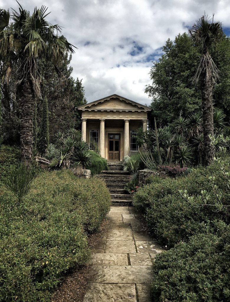 Il giardino mediterraneo ai Kew Gardens di Londra