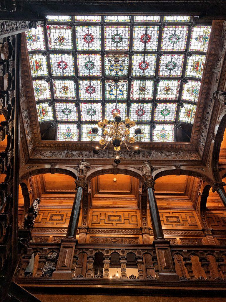 Il meraviglioso Tetto di vetro istoriato a Two Temple Place