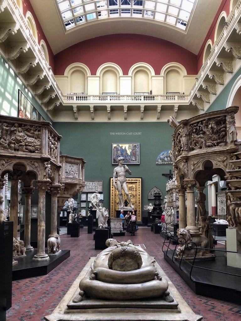 The cast court al Victoria and Albert Museum