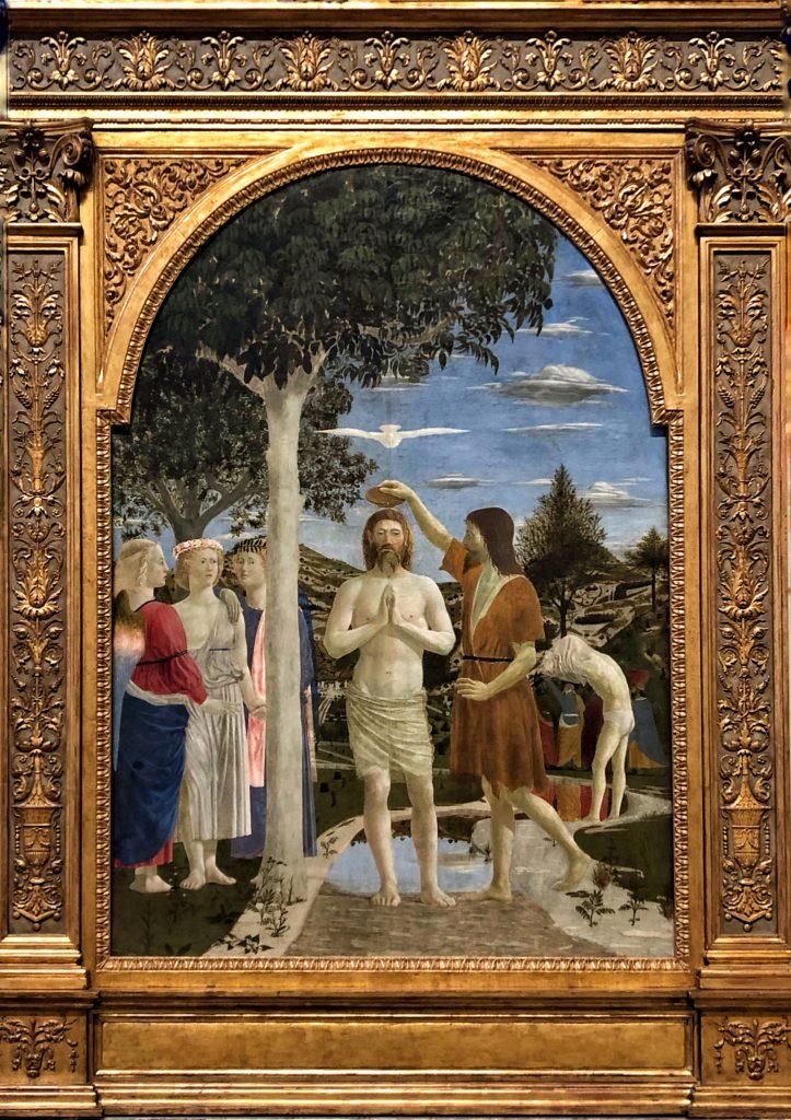 Il Battesimo di Cisto di Piero della Francesca