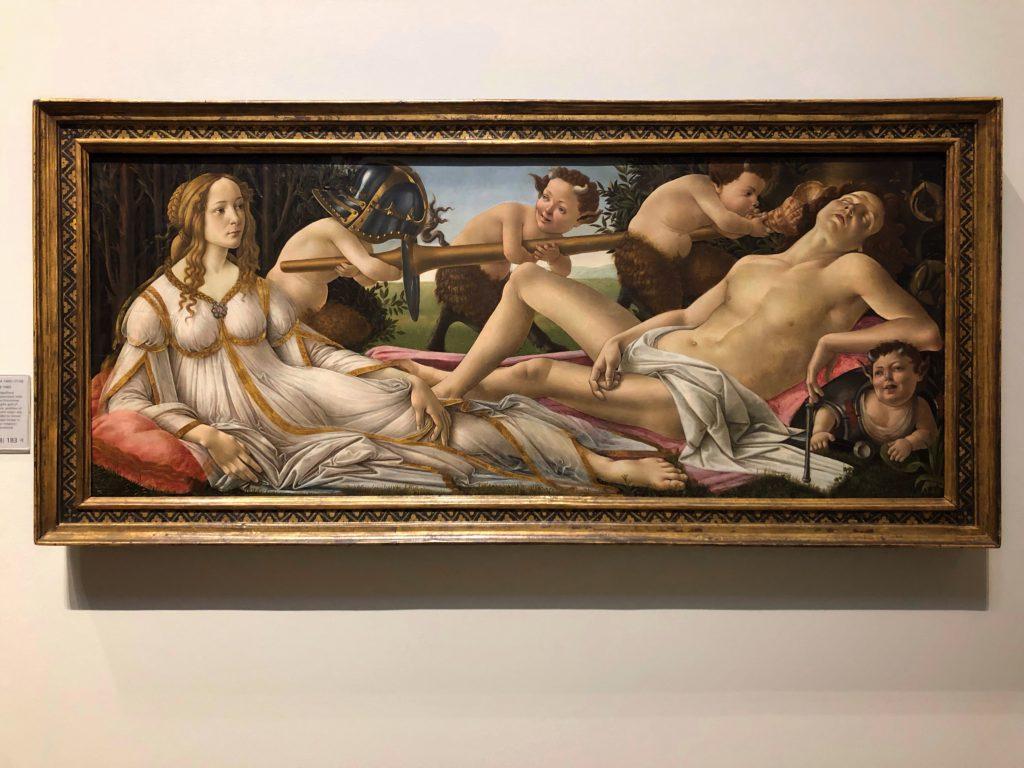 Marte e Venere alla National Gallery