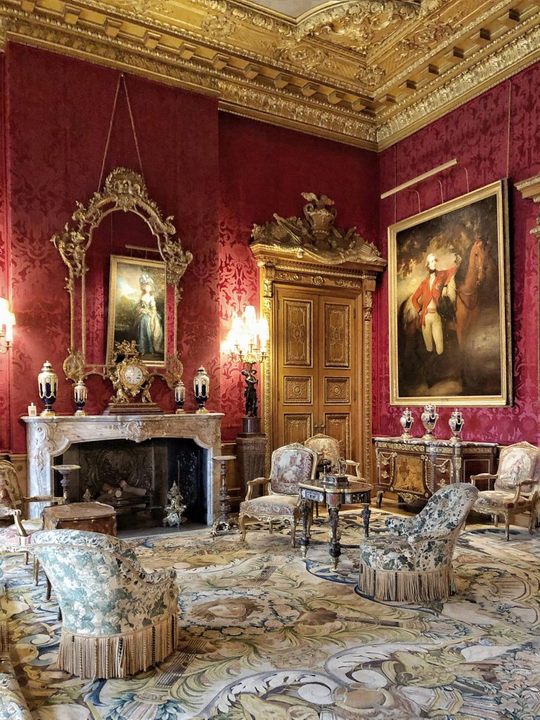 Waddesdon Manor, uno dei salotti